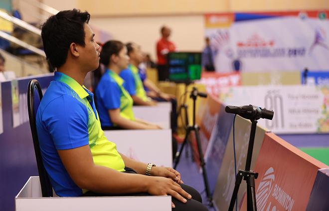 'Mắt diều hâu' lần đầu được áp dụng trong thi đấu Việt Nam