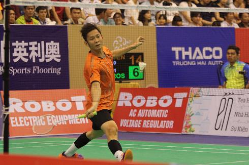 Cầu lông Việt Nam chia tay giải châu Á bằng một trận thắng