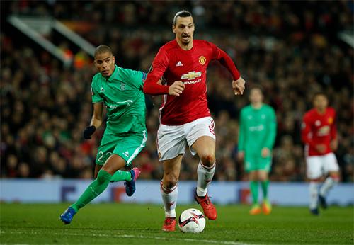 Ibrahimovic là cầu thủ định đoạt trận đấu số một cho Man Utd