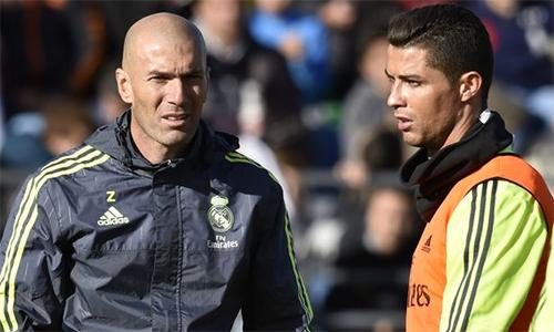 Zidane tiết lộ vị trí ưa thích của Ronaldo