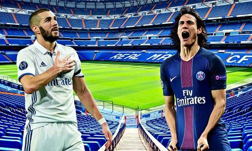 Real Madrid và PSG bàn trao đổi Benzema, Cavani