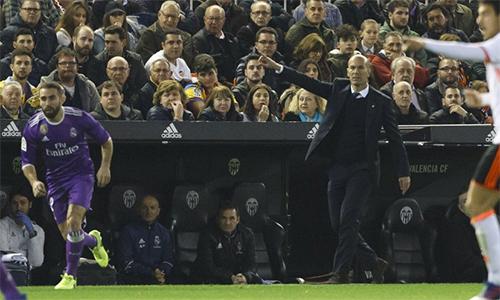 """Zidane: """"Real Madrid thua trận ngay trong 10 phút đầu tiên"""""""