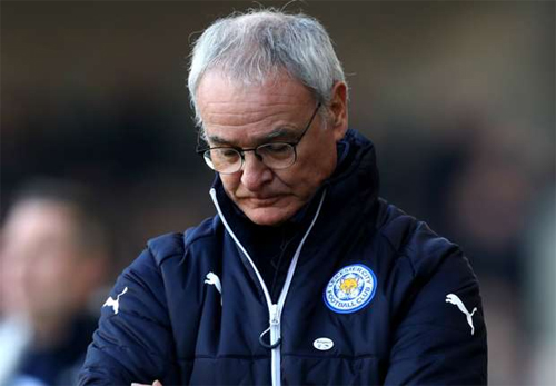Leicester City quyết định sa thải HLV Ranieri