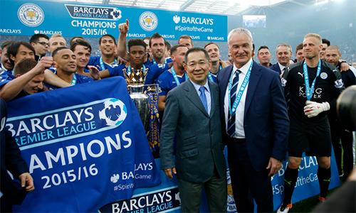 """Báo Anh: """"Sai lầm của Ranieri là vô địch Ngoại hạng Anh"""""""