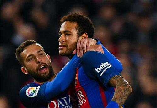 Giành chiến thắng 6-1, Barca vượt lên dẫn đầu La Liga