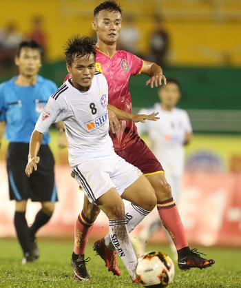 Đà Nẵng cắt đứt chuỗi chiến thắng của Quảng Ninh ở V-League