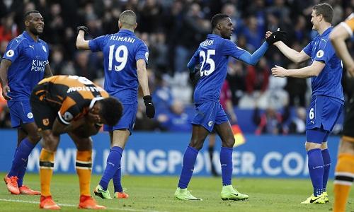 Leicester thắng trận thứ hai sau khi Ranieri ra đi