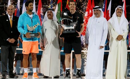 Murray vô địch Dubai Championship