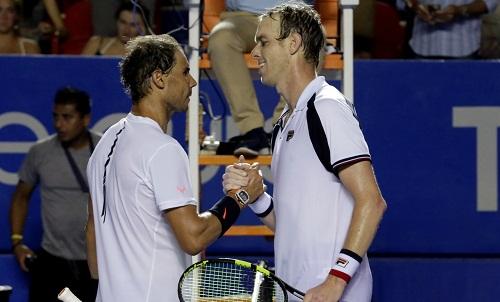 Nadal thất bại ở chung kết Mexico Mở rộng
