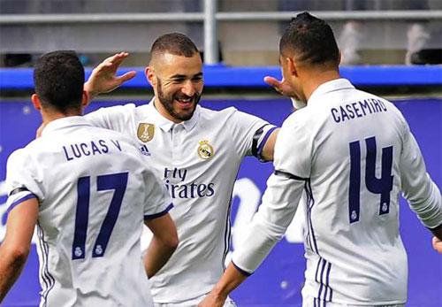 Real đại thắng dù vắng cả Bale lẫn Ronaldo