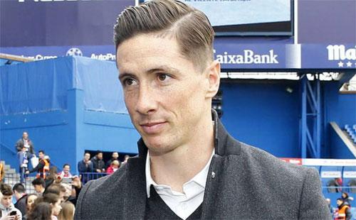 Torres tái xuất, đến sân cổ vũ Atletico