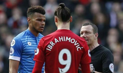 FA buộc tội Ibrahimovic có hành vi bạo lực