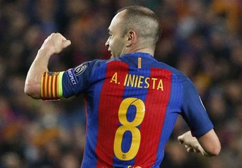 Thắng PSG với tỷ số 6-1, Barca vào tứ kết Champions League