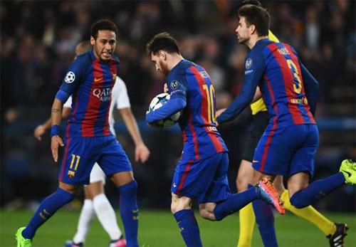 Màn ngược dòng của Barca vĩ đại nhất lịch sử bóng đá châu Âu