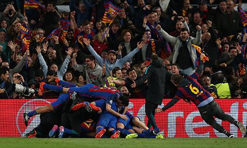 """Barca sắp bị phạt vì để """"vỡ sân"""" trong đêm lịch sử"""
