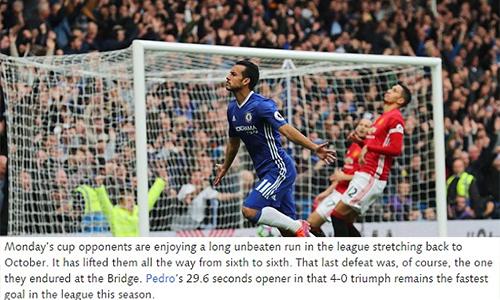 Chelsea mỉa mai Man Utd trước đại chiến ở Cup FA