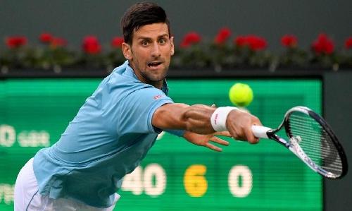 Djokovic khởi đầu nhọc nhằn tại Indian Wells