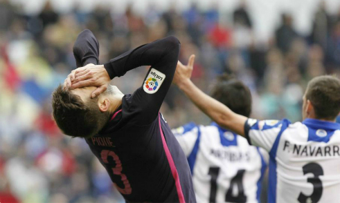 """Pique: """"Chiến thắng PSG vắt kiệt sức của Barca"""""""