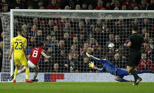 Thắng sát nút, Man Utd vào tứ kết Europa League