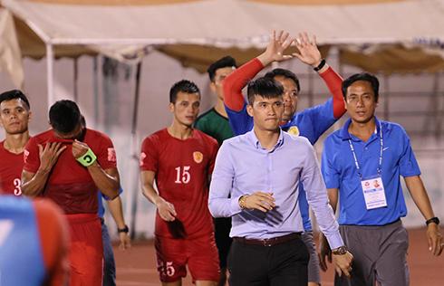 Đội của Công Vinh đứt mạch bất bại tại V-League