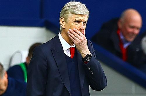 Arsenal trải qua chuỗi trận tồi tệ nhất tại Ngoại hạng Anh dưới thời Wenger