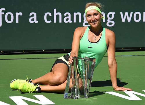 Vesnina vô địch Indian Wells sau trận chung kết dài kỷ lục