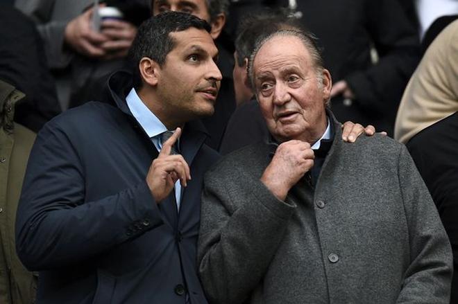 Ibrahimovic ví bản thân như vua khi gặp cựu hoàng Tây Ban Nha