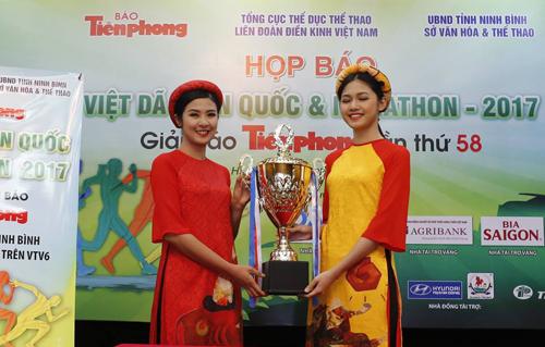 Hoa hậu Ngọc Hân xin chạy ở giải điền kinh lâu đời nhất Việt Nam