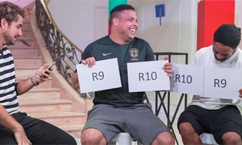 Ronaldo tự nhận trên tài Ronaldinho ở khoản ăn chơi trác táng
