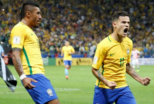 Brazil là đội đầu tiên vượt qua vòng loại, dự World Cup 2018