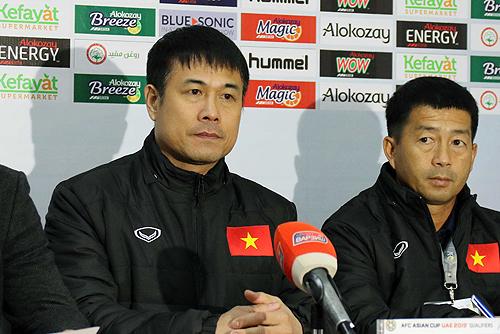 """HLV Hữu Thắng: """"Cầu thủ thay thế chưa kịp vào khi Việt Nam nhận bàn thua"""""""