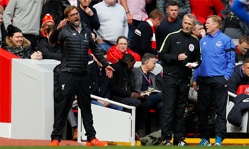 """Koeman chê Jurgen Klopp """"điên rồ"""" và diễn thái quá tại Anfield"""