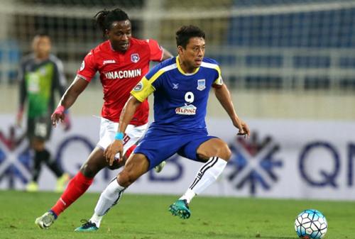 Quảng Ninh thất thủ sau màn rượt đuổi tỷ số ở AFC Cup 2017
