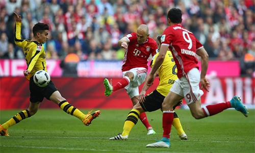 Bayern xử gọn Dortmund, chạy đà cho đại chiến Real Madrid