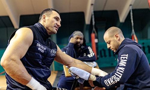 Klitschko tự so sánh bản thân với núi Everest