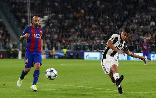 Juventus thắng đậm Barca ở tứ kết lượt đi