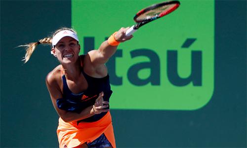 Tay vợt nữ số một thế giới khát danh hiệu trong năm 2017
