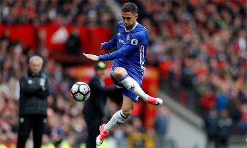 Eden Hazard mơ thi đấu cho các CLB lớn khác