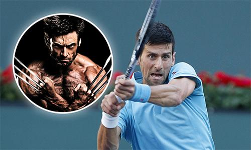 """Djokovic chấp nhận lời thách đấu của """"Người sói"""""""