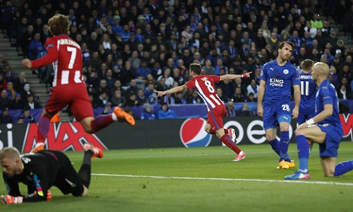 Leicester bị loại ở tứ kết Champions League sau trận hòa Atletico