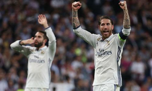 """Ramos: """"Pique nên xem lại trận Barca-PSG trước khi nói chuyện trọng tài"""""""