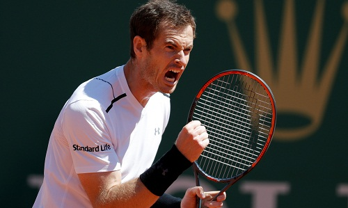 Murray thắng trận ra quân ở Monte Carlo