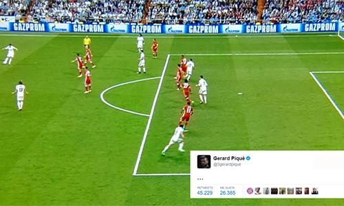 Bàn việt vị của Ronaldo là đề tài châm biếm trên mạng xã hội