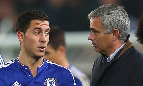"""Hazard: """"Tôi luôn thân thiết với Mourinho"""""""