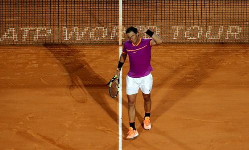 Nadal nhẹ nhàng vào bán kết Monte Carlo