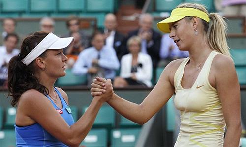 Radwanska phản đối Sharapova được đặc cách dự Roland Garros