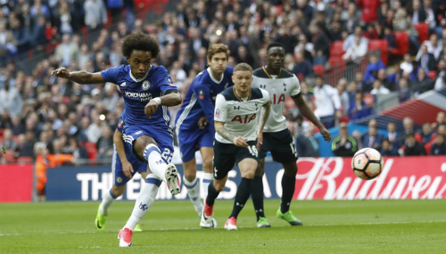 Chelsea đánh bại Tottenham, vào chung kết Cup FA