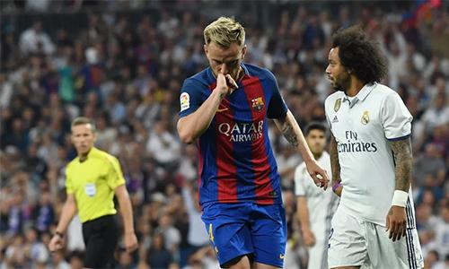 """Rakitic: """"Barca đá hay hơn khi Real còn đủ 11 người"""""""