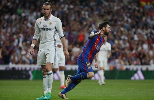 Messi lập cú đúp, Barca thắng Real ngay tại Bernabeu