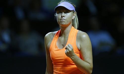 Sharapova chiến thắng trong trận trở lại sau án cấm
